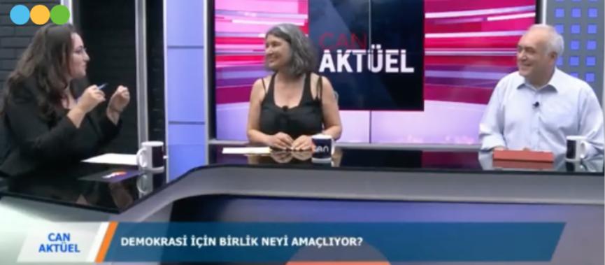 DİB SÖZCÜLERİ EVRENSEL WEB TV VE CAN TV'DE