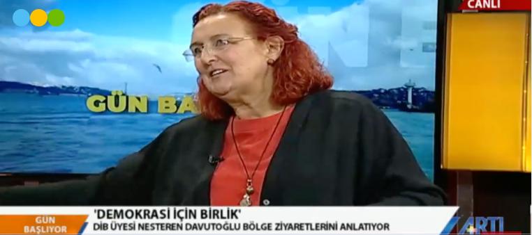 DİB, 16 EKİM BULUŞMASINI ARTI TV'DE ANLATIYOR